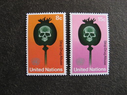 O.N.U. Siège De New-York: TB Paire N° 229 Et N° 230, Neufs XX. - New York -  VN Hauptquartier