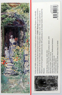 Ancien & Joli Marque-page éditions D'ART Pomegranate En Californie USA - CHILDE HASSAM : The Garden In Its Glory - Bookmarks