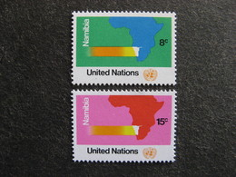 O.N.U. Siège De New-York: TB Paire N° 233 Et N° 234, Neufs XX. - New York -  VN Hauptquartier