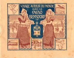 Carnet CACAO BENSDORP.  Voyage Autour Du Monde No 21. 16 Photographies. Allemagne Munich Et Stuttgart.  . - Places