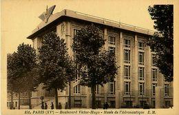 Cpa PARIS XV - Boulevard Victor Hugo - Musée De L' Aéronautique - Arrondissement: 15