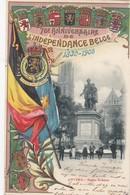 ANTWERPEN / 1830 -  1905 / ONAFHANKELIJKHEID / LITHO KAART / RUBENS - Antwerpen