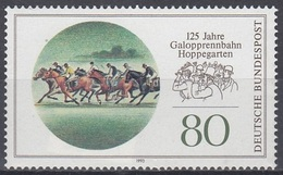 GERMANY Bundes 1677,unused,horses - Hippisme
