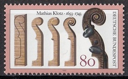 GERMANY Bundes 1688,unused - Music