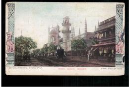 BURMA/ MYANMAR Mogul Musjid Rangoon Ca 1905 OLD POSTCARD 2 Scans - Myanmar (Burma)