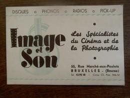 Oud VISITE Kaartje IMAGE Et SON - Visiting Cards