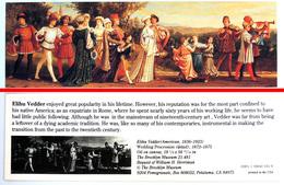 Ancien & Joli Marque-page éditions D'ART Pomegranate En Californie USA - ELIHU VEDDER : Wedding Procession - Bookmarks
