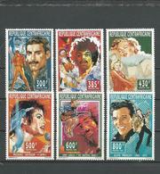 CENTRAFRIQUE  Scott 1094-1099 Yvert 1038-1043 ** (6) Cote 15,00 $ 1995 - Centrafricaine (République)