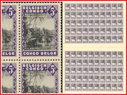 Congo 0197** Molindi Sheet / Feuille De 100  - 2 Panneaux De 50 - MNH- - Feuilles Complètes