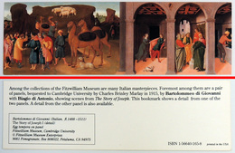 Ancien & Joli Marque-page éditions D'ART Pomegranate En Californie USA - BARTOLOMMEO DI GIOVANNI : The Story Of Joseph 1 - Bookmarks