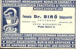 HEALTH, PHARMACY, DR BIRO PHARMACY IN CLUJ NAPOCA, SPECIAL COVER, ROMANIA - Pharmacie