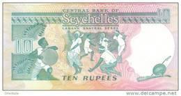 SEYCHELLES P. 32 10 R 1989 UNC - Seychellen