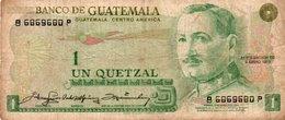 GUATEMALA 1 QUETZAL 1979 P-59 - Guatemala