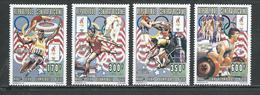CENTRAFRIQUE  Scott 1107-1110 Michel 1692-1695 ** (4) Cote 8,00 $ 1996 - Centrafricaine (République)