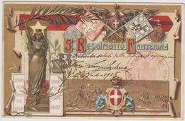 5 REGGIMENTO DI FANTERIA - FP  (151118) - Cartoline