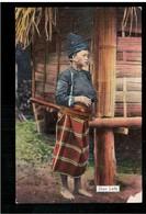 BURMA/ MYANMAR Shan Lady Ca 1910 OLD POSTCARD 2 Scans - Myanmar (Burma)