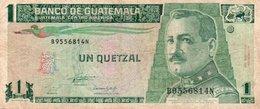 GUATEMALA 1 QUETZAL 1993 P-87 - Guatemala