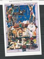 CENTRAFRIQUE  Scott 1117 Yvert ? ** (bloc De 9) Cote 8,00 $ 1996 - Centrafricaine (République)
