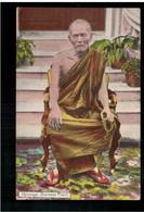BURMA/ MYANMAR Hpoongyi (Burmese Priest) Ca 1920 OLD POSTCARD 2 Scans - Myanmar (Burma)