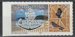 2018 Adhésifs Parus Au 72ème Salon D'Automne : Ponant - Wallis Und Futuna