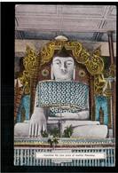 BURMA/ MYANMAR Kyaktaw Gyi (one Piece Of Marble) Mandalay Ca 1920 OLD POSTCARD 2 Scans - Myanmar (Burma)