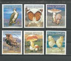 CENTRAFRIQUE  Scott 1131-1136 Yvert 1065-1070 ** (6) Cote 10,00 $ 1996 - Centrafricaine (République)