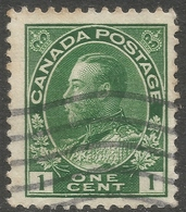 Canada. 1911-22 KGV. 1c Used. SG 196 - 1911-1935 Reign Of George V