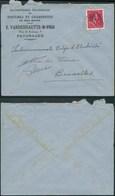A028 Lettre De Paturages à Bruxelles 1946 Toitures - 1946 -10%