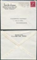 A044 Lettre De Bruxelles à Bruxelles  1946 Draperie - 1946 -10%
