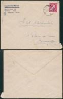 A045 Lettre De Liège à Bruxelles  1946 Imprimerie - 1946 -10%