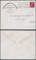 A047 Lettre De Liège à Bruxelles  1946 Boulonnerie - 1946 -10 %