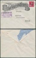 A048 Lettre De Etterbeek à Bruxelles  1946 Mécanique - 1946 -10%