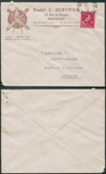 A049 Lettre De Bruxelles à Bruxelles  1946 Mécanique Outils Coloniaux - 1946 -10%
