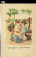 Carte Signée F. Poulbot, , Voir L'image -(POUL35-19) - Poulbot, F.