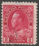 Canada. 1911-22 KGV. 2c Used. SG 200 - 1911-1935 Reign Of George V