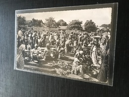 Abidjan 1955 Marche Indigenes Femmes Legumes Etales - Ivory Coast