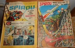 Spirou. Lot De 34 Magazines. - Spirou Magazine