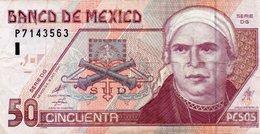 MEXICO 50 PESOS 2000 P-117 - Mexico