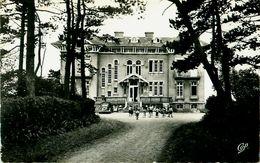 Cpsm GRANVILLE 50 Château De La Crète - ( Enfants, Colonie Du Lycée Camille Sées  Paris ) - Granville
