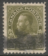 Canada. 1911-22 KGV. 20c Used. SG 213 - 1911-1935 Reign Of George V