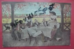 Cp L'ami Fritz Signe Springlerenfants D'alsace Et L'oncle Hansi - Illustrators & Photographers