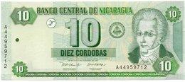 NICARAGUA 10 CORDOBAS 2002 P-191 UNC - Nicaragua