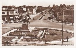 AK Baghdad بغداد Bagdad Statue King Faisal I Square A Haifa Hayfa Rashid Street شارع حيفا Irak جمهورية العراق Iraq - Iraq