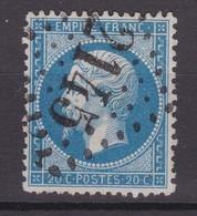 N° 22 : GROS CHIFFRES 2145  Paypal OK - 1862 Napoleon III