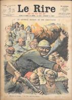 LE RIRE ROUGE...N°118..1917...12  Pages..Illustrateur: C.LEANDRE-H.MIRANDE-RADIGUET- FOIX-GUILLAUME-FLORES ETC... - Journaux - Quotidiens