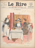 LE RIRE ROUGE...N°122..1917...12  Pages..Illustrateur:   FABIANO-GERBAULT-HASS-GUILLAUME-GEORGES EDWARD-  Etc.... - Journaux - Quotidiens