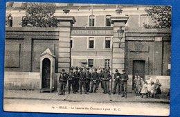 Lille  -  Caserne Des Chasseurs à Pied - Lille