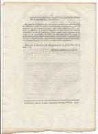 1793 // DECRET DE LA CONVENTION NATIONALE Des 23 Et 24 Juillet - Decrees & Laws
