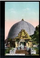 BURMA/ MYANMAR Koung Mu Daw Gyi Pagoda Sagaing Ca 1920 OLD POSTCARD 2 Scans - Myanmar (Burma)