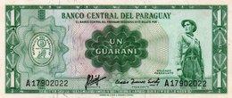 PARAGUAY 1 GUARANI 1963 P-193 UNC - Paraguay